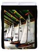 The Boat Shed Duvet Cover