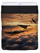 The Bomber Age  Duvet Cover