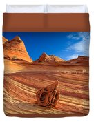 The Bone Yard In The North Coyote Buttes Duvet Cover