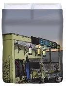 The Bottletree Cafe Duvet Cover