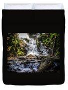 The Bottom Of Mingo Falls Duvet Cover