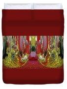 The Bouquet Unleashed 24 Duvet Cover
