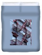 The Bowery Blues Duvet Cover