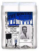 The Bowery Duvet Cover