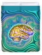 The Brain Duvet Cover