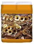 The Brass Section Duvet Cover