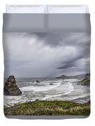 The Brewing Storm Duvet Cover