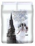 The Bride Of Christ Duvet Cover