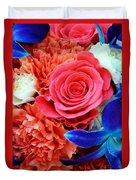 The Brides Flowers Duvet Cover