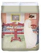 The Bridesmaid, Pub. In Lasst Licht Duvet Cover