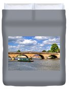 The Bridge At Henley-on-thames Duvet Cover
