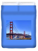 The Bridge Duvet Cover by Bill Gallagher