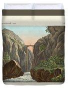 The Bridge To Ronda Duvet Cover