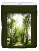 The Bright Path Duvet Cover