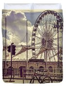 The Brighton Wheel Duvet Cover