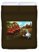 The British Soldiers Duvet Cover