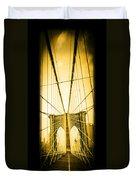 The Brooklyn Bridge New York Duvet Cover