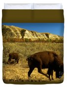 The Buffalo Dance Duvet Cover