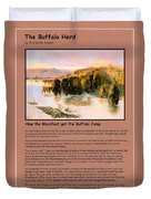The Buffalo Heard  Duvet Cover