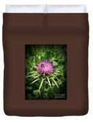 The Bug And The Thistle Duvet Cover