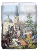 The Burial, 1812-13 Duvet Cover