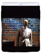 The Businessman Duvet Cover