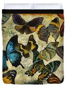 The Butterfly Collection #1 Duvet Cover