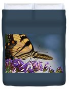 The Butterfly Duvet Cover by Lori Tambakis