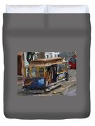 The Cable Car Duvet Cover