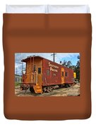 The Caboose Duvet Cover