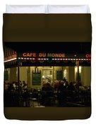 The Cafe Duvet Cover