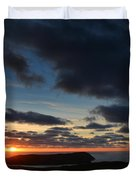 The Calf From A Hilltop In Twilight I Duvet Cover