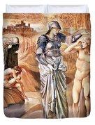 The Call Of Perseus, C.1876 Duvet Cover