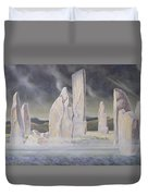 The Callanish Legend Isle Of Lewis Duvet Cover
