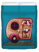 The Camper Van Duvet Cover