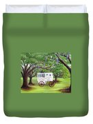 The Candy Cart Duvet Cover