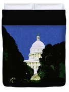 The Capitol  Duvet Cover