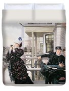 The Captains Daughter Duvet Cover