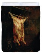 The Carcass Of An Ox, Late 1630s Duvet Cover