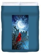 The Cardinal Duvet Cover