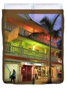 The Caribbean Hotel Duvet Cover