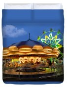 The Carnival Is In Town Duvet Cover