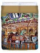 The Carousel Ride Duvet Cover