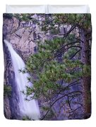 The Cascades Yosemite Np Duvet Cover