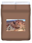 The Castle In Capitol Reef Np Duvet Cover