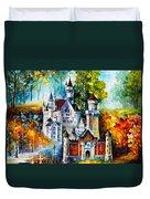 The Castle Of 4 Seasons Duvet Cover