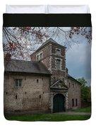 The Castle Of Vert-bois Bondues Duvet Cover