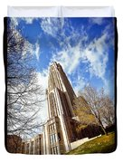 The Cathedral Of Learning 1 Duvet Cover