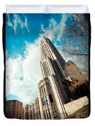 The Cathedral Of Learning 3 Duvet Cover