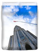 The Cathedral Of Learning 4 Duvet Cover